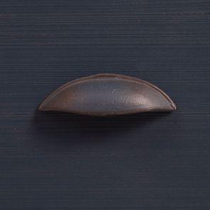 Meuble de cuisine pour évier en pin bleu grisé vieilli - Brocante - Visuel n°13