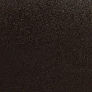 Fauteuil bridge en éco-cuir chocolat - Ernest