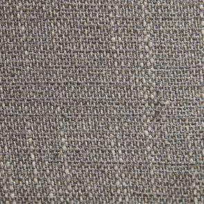 Fauteuil bridge en tissu gris chambray - Ernest