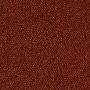 Banquette en velours rouille et hévéa massif noir - Clarence - Visuel n°7