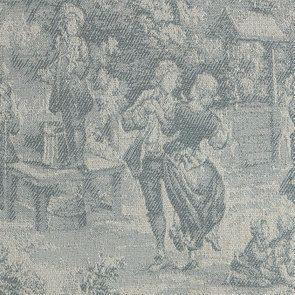 Banquette 2 places en tissu toile de Jouy - Clarence - Visuel n°7
