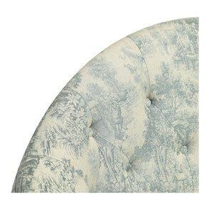 Banquette 2 places en tissu toile de Jouy - Clarence - Visuel n°8