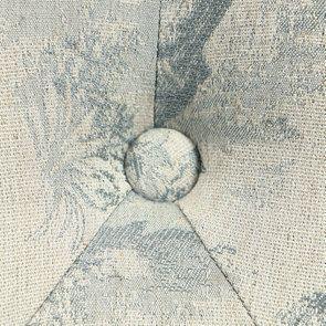 Banquette 2 places en tissu toile de Jouy - Clarence - Visuel n°10