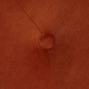 Banquette 2 places en frêne massif et tissu Velours rouille - Clarence - Visuel n°10