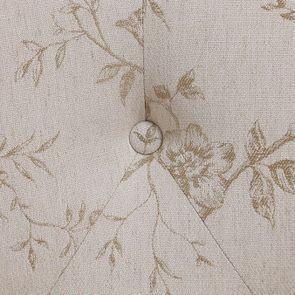 Banquette 2 places en hévéa massif et tissu Paradisier - Clarence - Visuel n°8