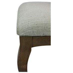 Chaise en frêne massif et tissu vert amande - Romy - Visuel n°12