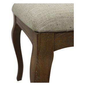 Chaise en frêne massif et tissu vert amande - Romy - Visuel n°13