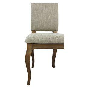 Chaise en frêne massif et tissu vert amande - Romy - Visuel n°14