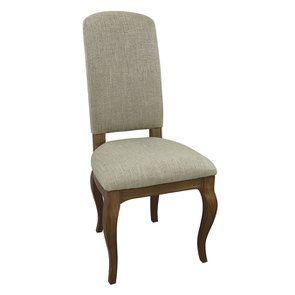 Chaise en frêne massif et tissu vert amande - Romy - Visuel n°6