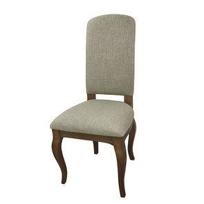 Chaise en frêne massif et tissu vert amande - Romy - Visuel n°7