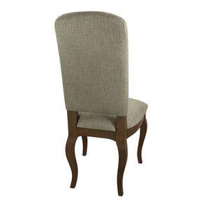 Chaise en frêne massif et tissu vert amande - Romy - Visuel n°9