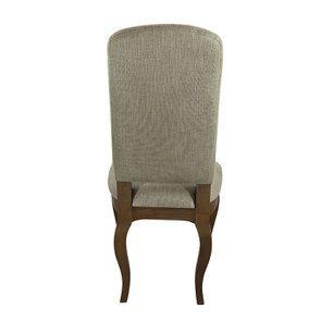 Chaise en frêne massif et tissu vert amande - Romy - Visuel n°10
