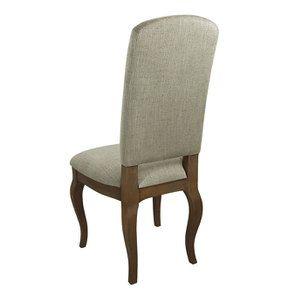 Chaise en frêne massif et tissu vert amande - Romy - Visuel n°11