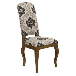 Chaise en tissu arabesque et frêne massif - Romy - Visuel n°6