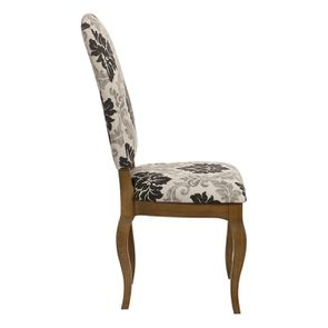 Chaise en tissu arabesque et frêne massif - Romy - Visuel n°10