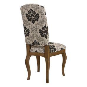 Chaise en tissu arabesque et frêne massif - Romy - Visuel n°14