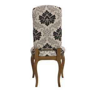 Chaise en tissu arabesque et frêne massif - Romy - Visuel n°18