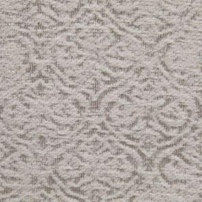 Fauteuil bergère en tissu arabesque perle - Césarine - Visuel n°7