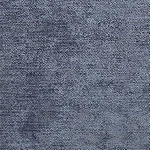 Fauteuil bergère en tissu velours bleu - Césarine - Visuel n°8