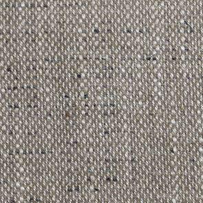 Fauteuil bergère en tissu mastic grisé - Césarine - Visuel n°7