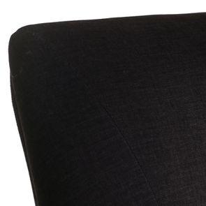 Fauteuil de table en frêne et tissu anthracite - Jude - Visuel n°8