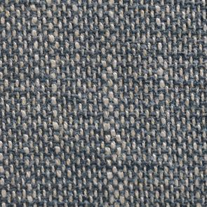 Fauteuil de table en tissu bleu chambray et frêne massif - Jude - Visuel n°26