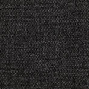 Pouf en hévéa massif château gris et tissu anthracite - Hector - Visuel n°7