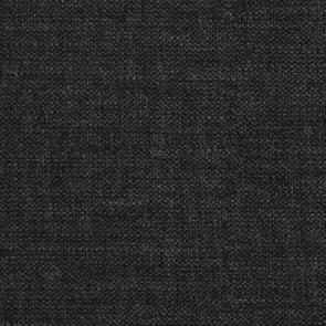 Pouf en hévéa massif château gris et tissu anthracite - Hector - Visuel n°3