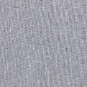 Pouf en frêne massif et tissu Bleu glacier - Hector