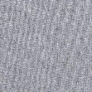 Pouf en hévéa blanc et tissu bleu glacier - Hector - Visuel n°7