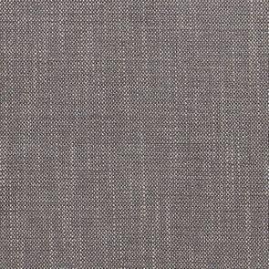 Pouf en hévéa massif et tissu Gris chambray - Hector - Visuel n°7