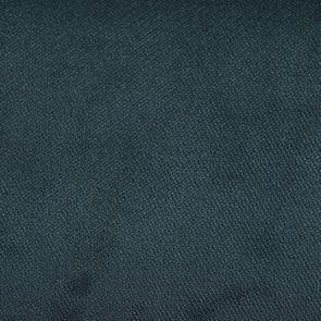 Chaise capitonnée en tissu velours vert bleuté et hévéa - Albane - Visuel n°7