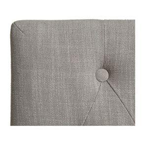 Chaise en tissu capitonné beige - Albane - Visuel n°6