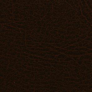 Chaise capitonnée en éco- cuir chocolat - Albane - Visuel n°7