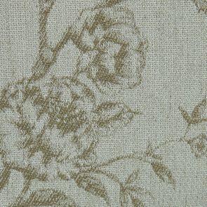 Chaise capitonnée en tissu paradisier et frêne - Albane - Visuel n°7