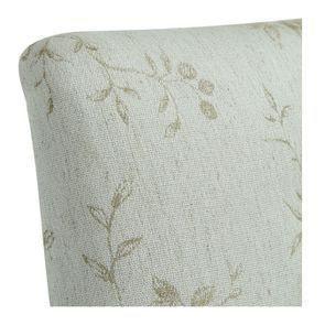Chaise capitonnée en tissu paradisier et frêne - Albane - Visuel n°8
