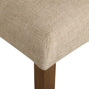 Chaise en tissu capitonné ficelle - Albane - Visuel n°9