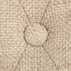 Chaise en tissu capitonné ficelle - Albane - Visuel n°10