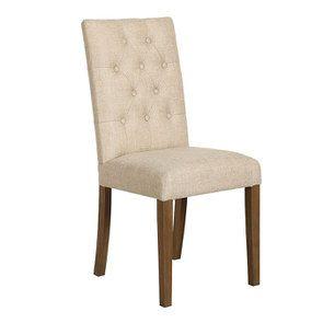 Chaise en tissu capitonné ficelle - Albane - Visuel n°2