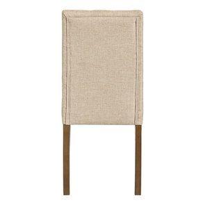 Chaise en tissu capitonné ficelle - Albane - Visuel n°5