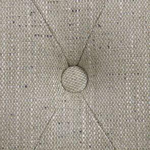 Chaise capitonnée en tissu vert amande et frêne - Albane - Visuel n°10