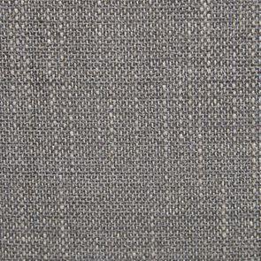 Chaise en hévéa massif et tissu gris chambray - Romane - Visuel n°7