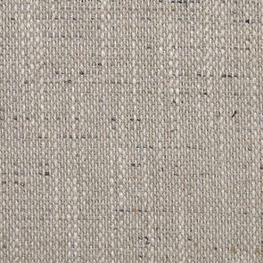 Chaise en hévéa massif et tissu mastic grisé- Romane - Visuel n°20