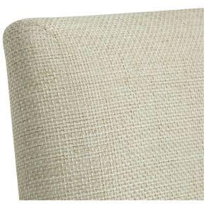 Chaise en frêne et tissu beige ficelle - Romane - Visuel n°8