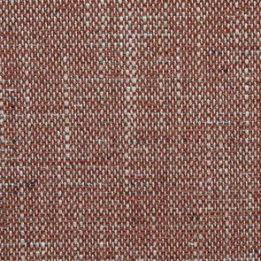 Chaise en tissu orange briqué et frêne massif - Romane - Visuel n°7