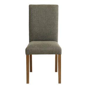 Chaise en tissu lichen - Romane