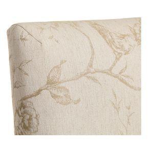Chaise en tissu paradisier et hévéa massif - Romane - Visuel n°8