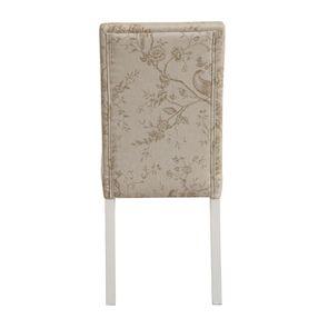 Chaise en tissu paradisier et hévéa massif - Romane - Visuel n°5
