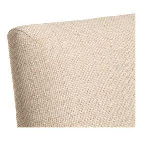 Chaise en tissu ficelle et hévéa massif - Romane - Visuel n°8