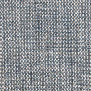 Banquette 2 places en frêne massif et tissu bleu chambray - Apolline - Visuel n°7